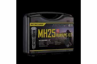 Nitecore MH25 960 Lumens Flashlight Hunting Kit