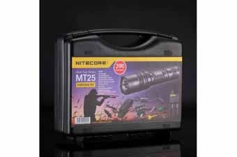 Nitecore MT25 390 Lumens Flashlight Hunting Kit