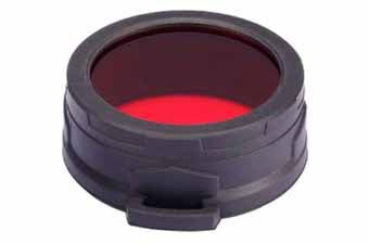 Nitecore NFR60 Red Diffuser Filter (60Mm)