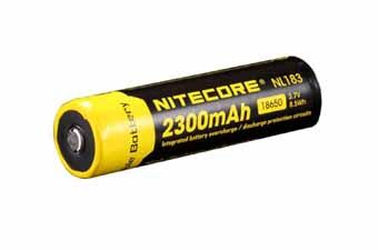 Nitecore NL183 18650 Li-Ion Battery