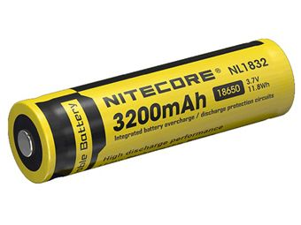 Nitecore 18650 Li-ion Battery 3.7V 3200mAh