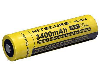 Nitecore 18650 Li-ion Battery 3.7V 3400mAh