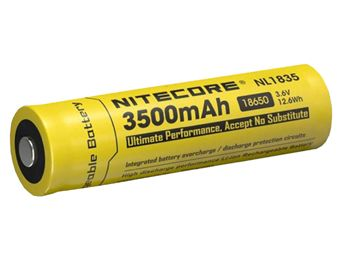 Nitecore 18650 Li-ion Battery 3.7V 3500mAh