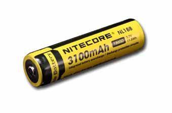 Nitecore NL188 18650 Li-Ion Battery