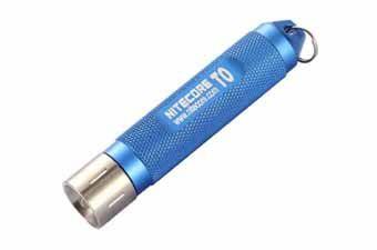 Nitecore T0 12 Lumens Keychain Flashlight Blue