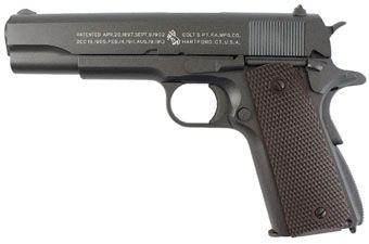 Colt 1911 CO2 Blowback Full Metal Airsoft Pistol