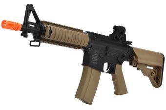 Colt M4 CQB-R Airsoft RIS AEG Rifle - Tan