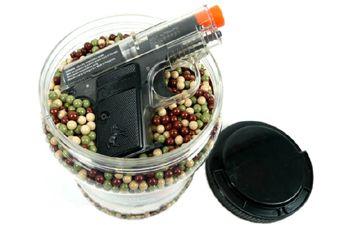 Ultrasonic .12 g BBs w/Colt Airsoft Pistol