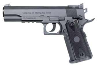 Tanfoglio 1911 4.5Mm Semi-Auto Black CO2 Pistol