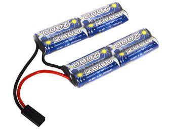 Cybergun 9.6V- 2000 Mah Double Twin Intellect Battery
