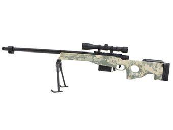 L115 Magnum Sniper 1:4 Scale Model Rifle Display