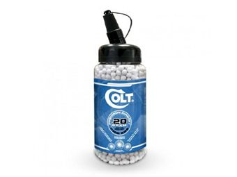 Colt .20g 2000ct White Airsoft BBs Jar