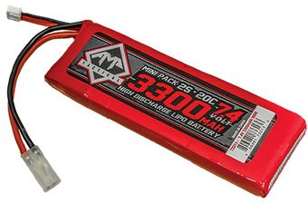 7.4V 3300mAh 20C LIPO AEG Mini Battery
