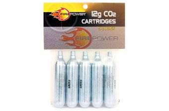 Firepower Swiss Arms 5 Pack CO2 Bag with Header