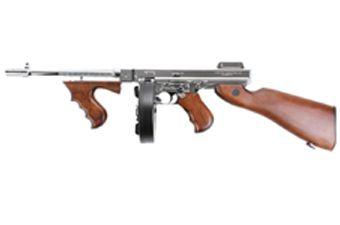 King Arms M1928 Silver Thompson HI Grade Airsoft Rifle
