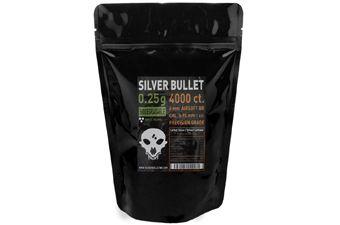 Silver Bullet Bio Airsoft BBs .25g - 4000ct