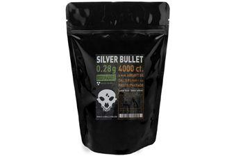 Silver Bullet Bio Airsoft BBs .28g - 4000ct