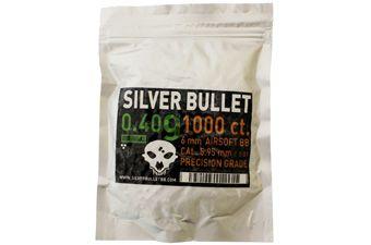 Silver Bullet Bio Airsoft BBs .40g - 1000ct