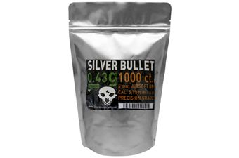 Silver Bullet Bio Airsoft BBs .43g - 1000ct