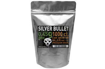 Silver Bullet Bio Airsoft BBs .45g - 1000ct