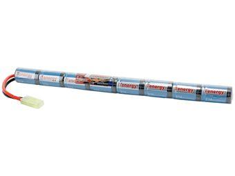 Tenergy 9.6V 1600mAh Stick Pack Mini NiMH Airsoft Battery