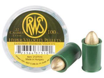 RWS Hyper Velocity 5.5Mm Pellets 100-Pack