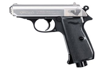 Walther Nickel Slide PPK S CO2 Air Pistol
