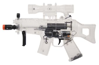 Walther SG-S Clear Mini Electric Airsoft Gun