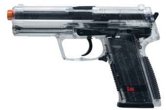 Heckler And Koch Clear USP Spring Airsoft Pistol