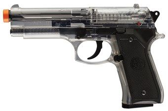 Beretta 92 FS Spring Clear Airsoft Gun