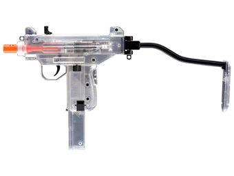 Umarex Mini Clear UZI Spring Airsoft Gun