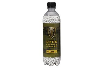 Elite Force Premium .28g Airsoft BBs 2700ct.