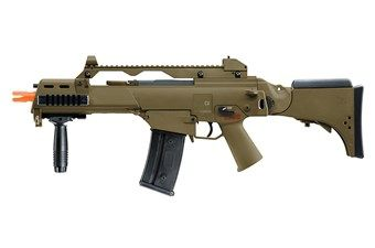 Heckler And Koch G36 CV AEG Dark Earth Brown Rifle
