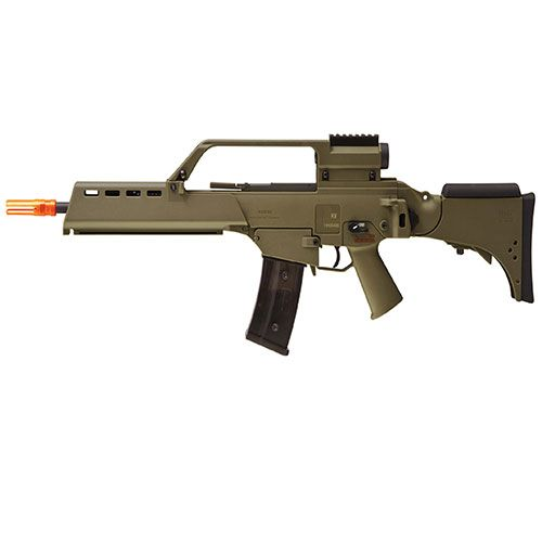 Heckler And Koch G36 KV AEG Dark Earth Black Rifle