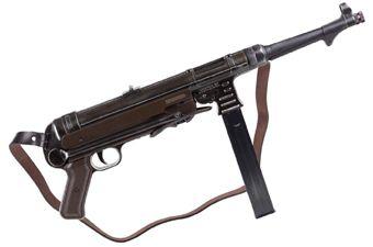 Legends MP BB Machine Gun Blowback (Weathered)