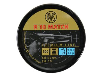 RWS R10 0.45 Match 4.5Mm Pellets 500-Pack