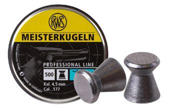 RWS Meisterkugeln .177 Cal Wadcutter Pellets 500ct