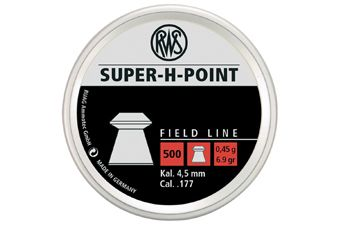 RWS Super H-Point 0.45 4.5Mm Pellets 500-Pack