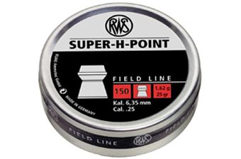 RWS Super H-Point 1.62 6.35Mm Pellets 150-Pack