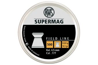 RWS Supermag 0.60 4.5Mm Pellets 500-Pack