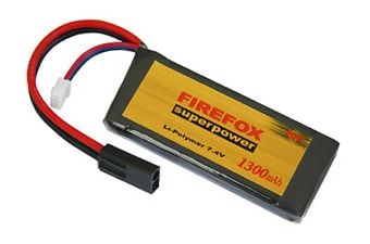 Firefox 7.4V 1300mAh 20C LiPo AEG Mini Battery