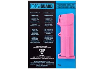 Bodyguard Pink Pepper Spray With Flip Top 20G