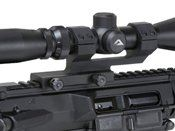 1 Inch QD Cantilever Black Anodized Scope Mount
