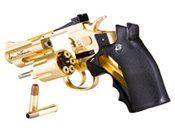 Dan Wesson CO2 2.5 Inch Gold Airsoft Revolver