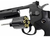 Dan Wesson Grey 6 Inch CO2 Airsoft Revolver (US Version)