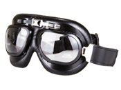 Aviator Goggles WW2 Style Black