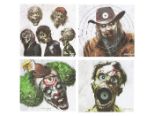 Crossman Zombie 20 Count Paper Targets
