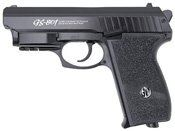 G&G Black GS-801 Airsoft Pistol With Laser