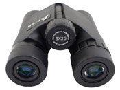 8x25 Black Binoculars