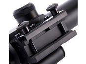 M6 4x25 Mil-Dot Rifle Scope w/ Red Laser
